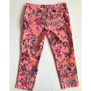 New York & Company Floral Print Pants